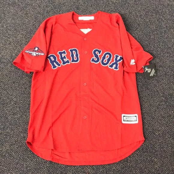 80218d36be939 Majestic Shirts | Nwt Andrew Benintendi Boston Red Sox Jersey Xl ...